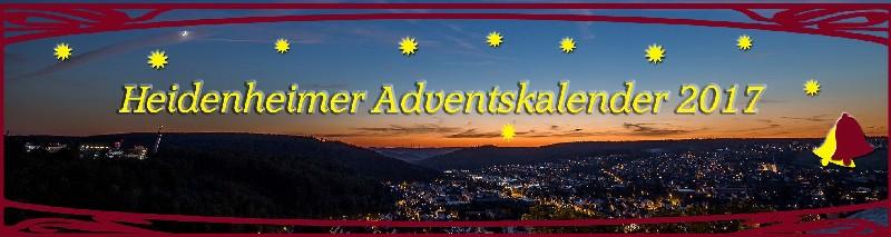 Heidenheim Adventskalender 2017